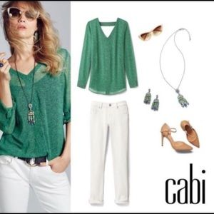 CAbi bountiful blouse. Small